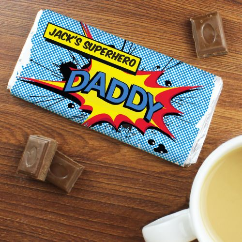 Comic Book Chocolate Bar